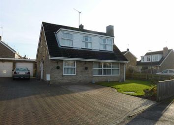 Thumbnail 3 bed property for sale in Sandringham Crescent, North Wootton, King's Lynn