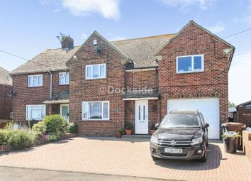 Thumbnail 4 bed semi-detached house for sale in Stoke Road, Allhallows, Rochester