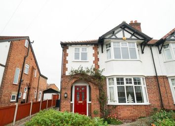 Thumbnail 3 bed semi-detached house to rent in Sheldon Avenue, Vicars Cross, Chester