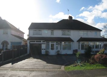 Thumbnail 4 bed semi-detached house for sale in Barkers Lane, Wythall, Birmingham