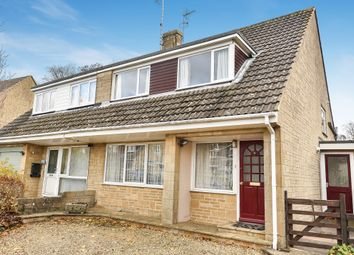Thumbnail 3 bed semi-detached house for sale in Velhurst Drive, Brownshill, Stroud