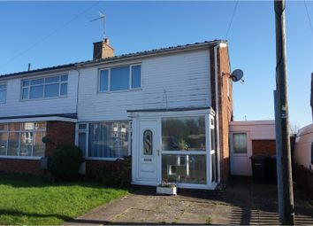 Thumbnail 2 bedroom semi-detached house for sale in Welland Avenue, Market Harborough