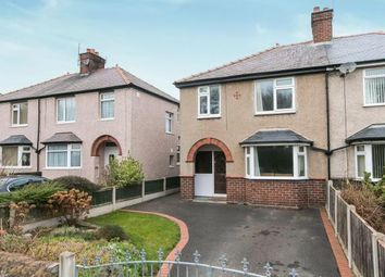Thumbnail 3 bed semi-detached house for sale in Nant Ddu, St. George, Abergele, Conwy