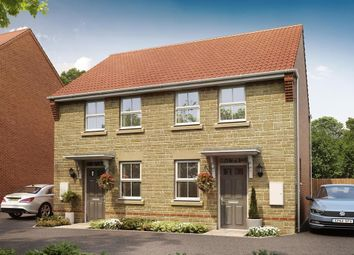 """Thumbnail 2 bed semi-detached house for sale in """"Wilford"""" at Oxford Road, Calne"""