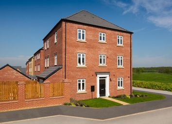 """Thumbnail 4 bed semi-detached house for sale in """"Drayton"""" at Crick Road, Hillmorton, Rugby"""