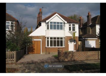 Thumbnail 4 bed detached house to rent in Ember Farm Way, East Molesey