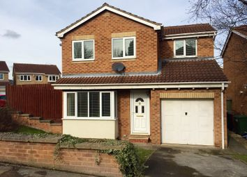 Thumbnail 4 bed detached house for sale in Durkar Rise, Crigglestone, Wakefield