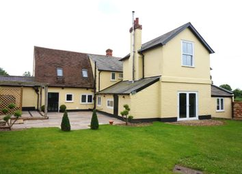 Thumbnail 4 bed detached house for sale in School Lane, Stratford St Mary, Essex