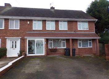 Thumbnail 5 bedroom end terrace house for sale in Milstead Road, Birmingham, West Midlands