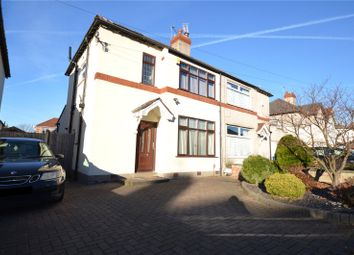 Thumbnail 3 bed semi-detached house for sale in Ridgetor Road, Woolton, Liverpool