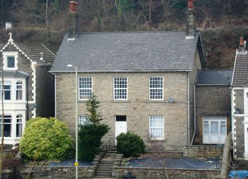 Thumbnail 4 bedroom detached house for sale in Berw Road, Pontypridd