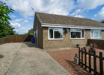 Thumbnail 2 bed semi-detached bungalow for sale in Norman Avenue, Withernsea, East Riding Of Yorkshire