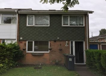 Thumbnail 3 bed end terrace house to rent in Walsgrave Drive, Solihull