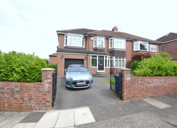 Thumbnail 5 bed semi-detached house for sale in Broxholm Road, Newcastle Upon Tyne