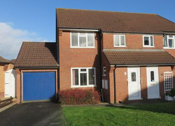 Thumbnail 3 bedroom semi-detached house to rent in Norrington Way, Chard