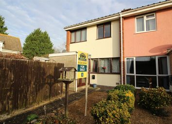 Thumbnail 3 bed end terrace house for sale in Willoughby Close, Great Barford, Bedford