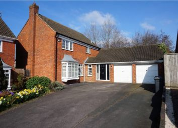 Thumbnail 4 bedroom detached house for sale in Beckham Close, Luton