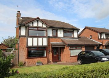 Thumbnail 4 bed detached house for sale in Mortlake Close, Widnes