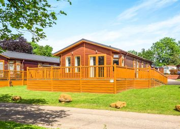 Thumbnail 2 bed mobile/park home for sale in Lakeview, Haveringland Hall Park, Norwich