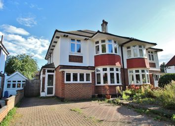 Thumbnail 3 bed semi-detached house for sale in Elgar Avenue, Surbiton, Surrey
