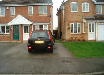 Thumbnail 2 bed semi-detached house to rent in Piper Close, Hucknall, Nottingham