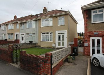 Thumbnail 3 bed end terrace house to rent in Hillside Avenue, Kingswood, Bristol