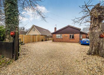 Thumbnail 3 bedroom detached bungalow for sale in Buckenham Road, Lingwood, Norwich