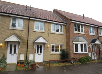 Thumbnail 3 bed terraced house for sale in Arnold Pitcher Close, North Walsham