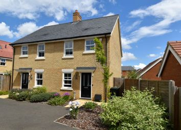 Thumbnail Semi-detached house for sale in Kennett Drive, Biggleswade