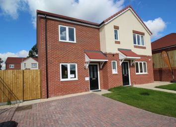 Thumbnail 2 bed semi-detached house for sale in Kingfisher Close, Cherry Willingham, Lincoln