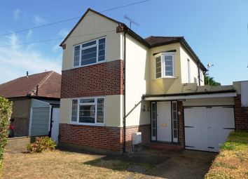 Thumbnail 3 bed detached house to rent in Francis Close, West Ewell