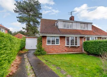 Thumbnail 3 bed semi-detached house for sale in Grey Close, Sutton-On-The-Forest, York