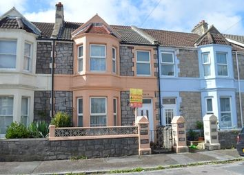 Thumbnail 3 bedroom terraced house for sale in Stanley Grove, Weston-Super-Mare