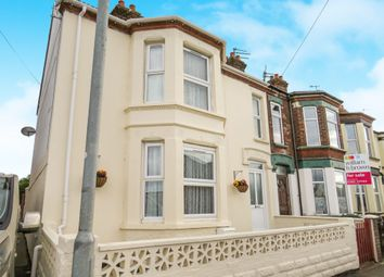 Thumbnail 3 bed end terrace house for sale in Station Road, Great Yarmouth