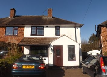 Thumbnail 3 bed semi-detached house to rent in Burford Close, Solihull