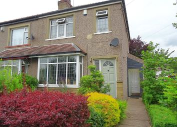 Thumbnail 3 bed semi-detached house for sale in Leaventhorpe Lane, Bradford