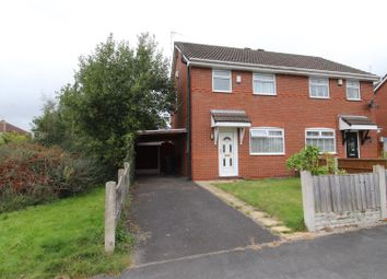 Thumbnail 2 bed semi-detached house for sale in Sandway, Springfield, Wigan