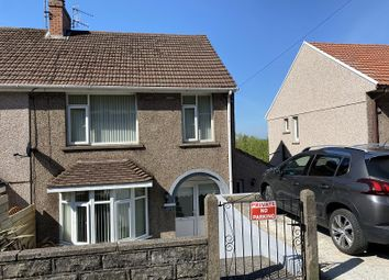 Thumbnail 3 bed semi-detached house for sale in Dinas Baglan Road, Baglan, Port Talbot, Neath Port Talbot.