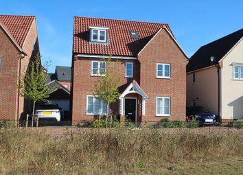Thumbnail 5 bed detached house for sale in Elm Close, Martlesham, Woodbridge