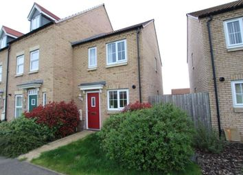 Thumbnail 2 bedroom end terrace house for sale in Kings Avenue, Ely