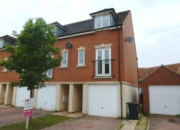 Thumbnail 3 bed end terrace house to rent in Camomile Close, Downham Market