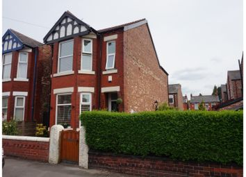 Thumbnail 3 bed detached house for sale in Sherborne Road, Cheadle Heath