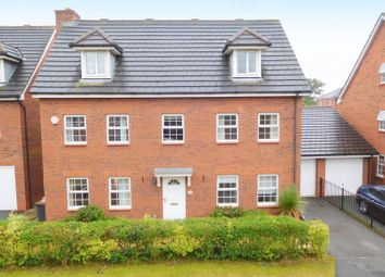 Thumbnail 5 bedroom detached house for sale in Hallams Drive, Stapeley, Nantwich