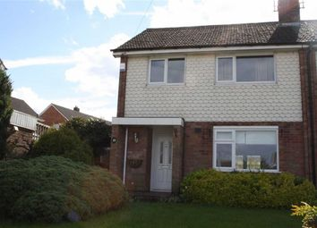 Thumbnail 3 bed semi-detached house for sale in Ellis Close, Glenfield, Leicester