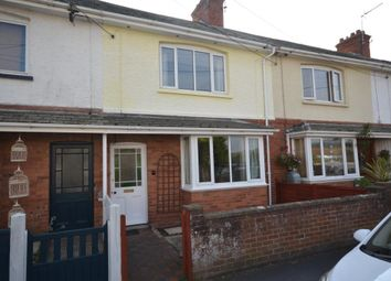Thumbnail 2 bed terraced house for sale in Greenway Lane, Budleigh Salterton, Devon