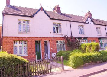 Thumbnail 2 bed end terrace house for sale in Connaught Road, Brookwood, Woking