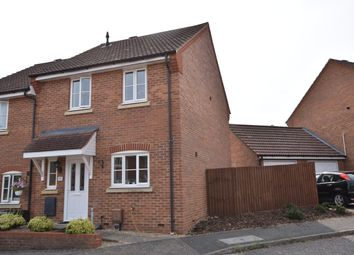 Thumbnail 3 bed end terrace house to rent in Comfrey Way, Thetford