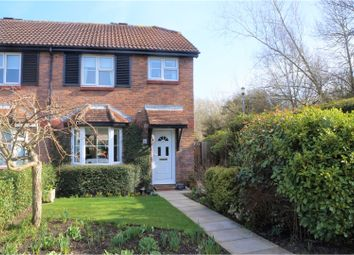 Thumbnail 3 bedroom end terrace house for sale in Yeoman Close, Swindon