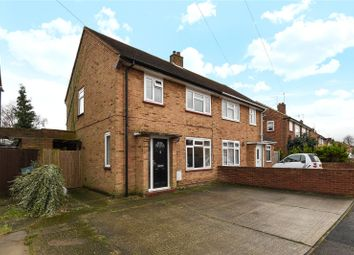 Thumbnail 3 bed semi-detached house for sale in Ash Grove, Harefield, Uxbridge, Middlesex
