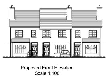 Thumbnail 3 bed town house for sale in Empire Avenue, Dungannon